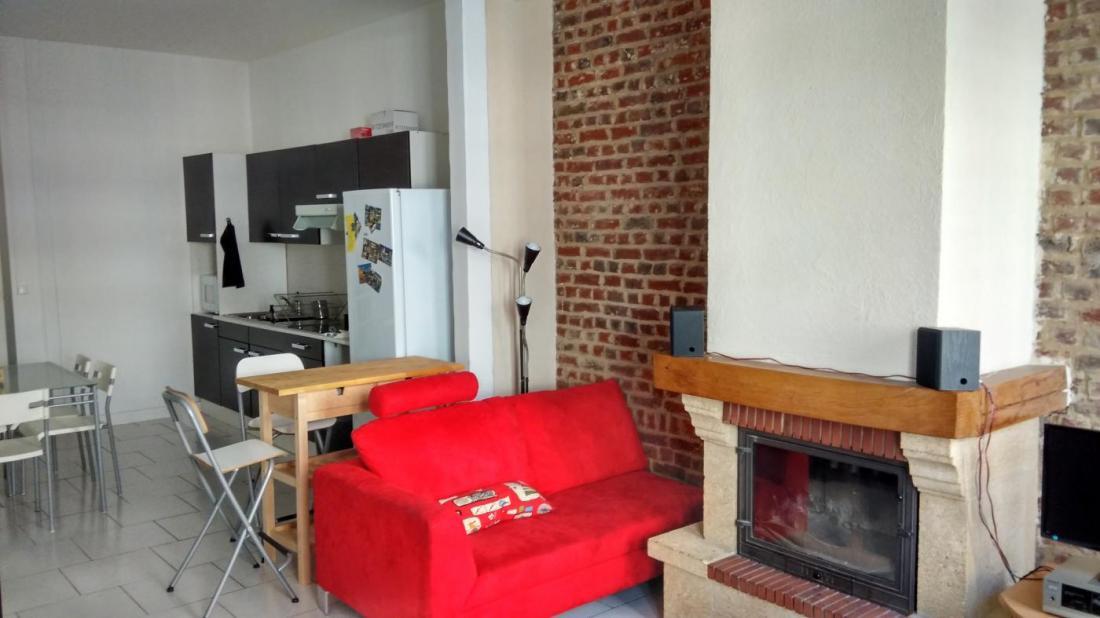 Appartement T2 Bis + Parking avec Cheminée Fdb Centre ville LA MADELEINE